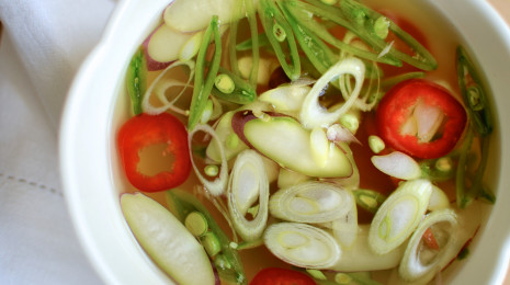 Broth with veg