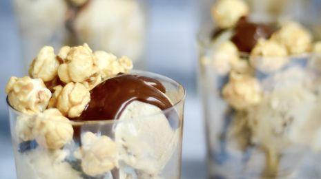 Popcorn sundae 2